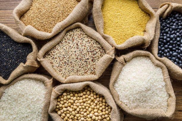 productos de grano entero